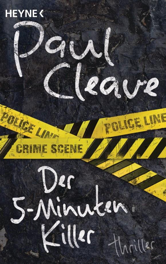 Der Fuenf-Minuten-Killer von Paul Cleave